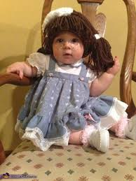Halloween Doll Costumes 25 Cabbage Patch Costume Ideas Homemade Baby