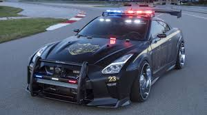Nissan Gtr Blue - don u0027t bother running from this insane nissan gt r police car