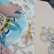 How To Measure For Grommet Curtains How To Make Unlined Diy Drapes With An Easy Grommet Top The Diy