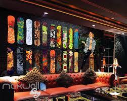3d graffiti colorful surfboard wall murals wallpaper wall art 3d graffiti colorful surfboard wall murals wallpaper wall art decals decor idcwp ty 000087