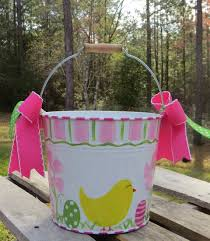 painted easter buckets 44 best easter images on easter décor easter party
