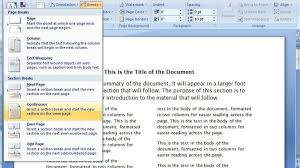 create a two column document template in microsoft word cnet