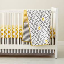 Mattress Toppers For Cribs by Baby Crib Bedding Baby Grey U0026 Yellow Patterned Crib Bedding The