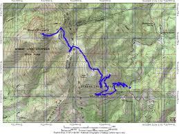 Map Of Napa The Napa Valley Mt St Helena