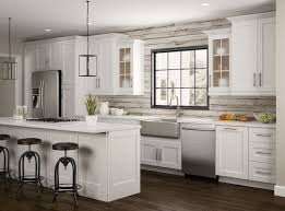 home depot custom kitchen cabinets cost newport base cabinets in pacific white kitchen the home