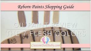 shopping guide reborn paint shopping guide the 7 flesh colors youtube