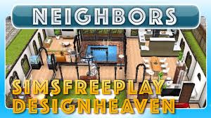 freeplay simsfreeplay designheaven u0027s house neighbor u0027s