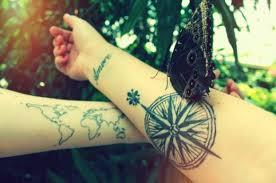 16 best couple travel tattoo ideas u0026 designs