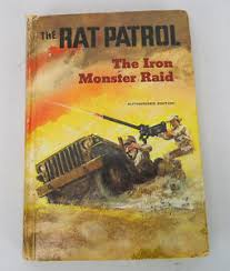 rat patrol book iron monster raid edmonds authorized