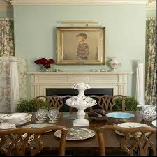 White And Green Dining Room With Chippendale Chairs Transitional - Chippendale dining room