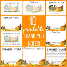 printable thanksgiving thank you cards happy thanksgiving