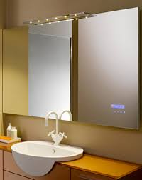 mirror in the bathroom home design