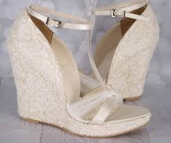 wedding shoes on best 25 wedding shoes lace wedges ideas on outdoor