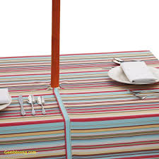 Tablecloth For Patio Table With Umbrella by Tablecloths Inspirational Outdoor Tablecloths With Umbrella Hole