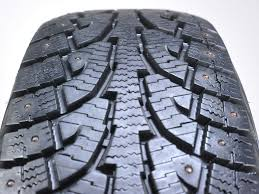 lexus rx300 tyre pressure used hankook i pike rw11 studded 225 70r16 103t 1 tire for sale