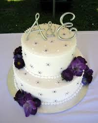 Purple And White Wedding Wedding Cakes Wedding Cakes Purple And Yellow Purple Wedding