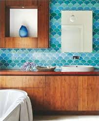 Eclectic Bathroom Ideas 25 Wonderful Ideas And Pictures Ceramic Tile Murals For Bathroom