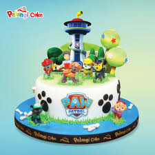paw patrol birthday cake kumpulan birthday wedding