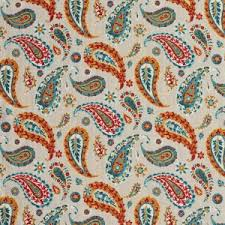Upholstery Fabric With Birds Burgundy Red And Rust Paisley Upholstery Fabrics Discounted