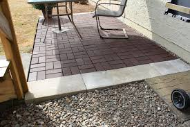 fresh ideas building a patio with pavers how to install brick