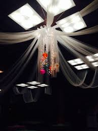 gossamer tented ceiling with lights u0027s sleepover spa party