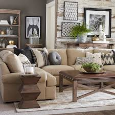 Living Room With Sectional Sutton U Shape Sectional Sofa Living Room Bassett Furniture