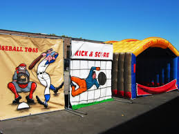 party rentals chicago carnival carnival sports themed