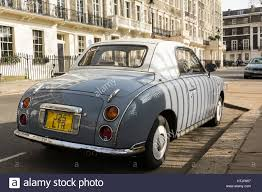 nissan grey a lapis grey nissan figaro in gordon square bloomsbury london