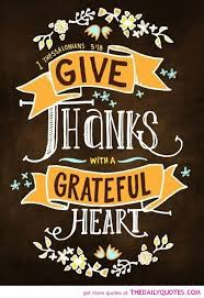 give thanks with a grateful religious quotes sayings