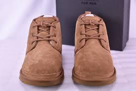 ugg australia men u0027s neumel 3236 shoes chestnut suede sz 10 ebay