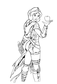 snow white coloring book darth snow white lineart by josephb222 deviantart com on