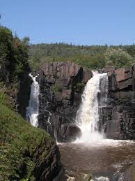 Minnesota waterfalls images High falls of the pigeon river jpg