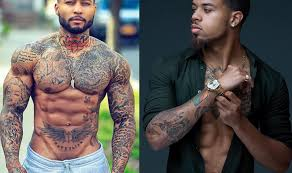 10 black with tattoos best ideas for skin