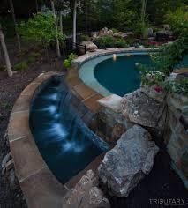 Luxury Pool Design - tropical oasis tributary pools u0026 spas
