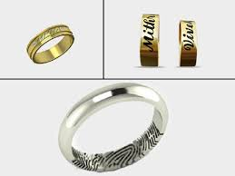 wedding rings with names wedding rings with names wedding rings