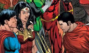 justice league superman woman u0027s son hunter prince