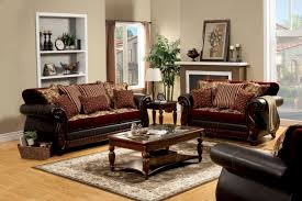 Traditional Living Room Set Furniture Of America Eleanor Traditional Style 2 Piece Sofa Set