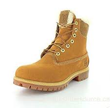 s boot newest canada timberland s 6 inch heritage fur lined wheat nubuck winter