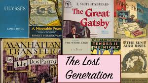 literature themes in the 1920s the lost generation writers story time with mr beat youtube