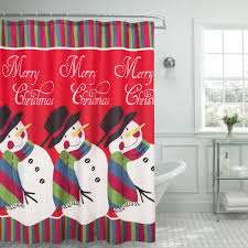Creative Curtain Ideas Creative Home Ideas 70 In X 72 In Snowman Textured