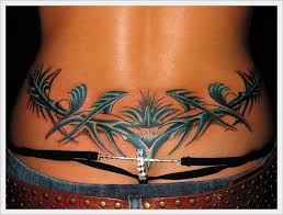pinterest u0027te 25 u0027ten fazla güzel tribal back tattoos fikri bel