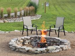backyard stone fire pit marvelous stacked stone fire pit style dining room with stacked