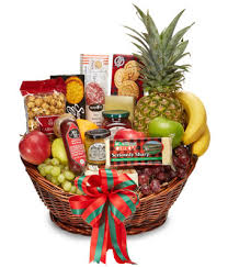 christmas fruit baskets gourmet christmas fruit snack basket at from you flowers