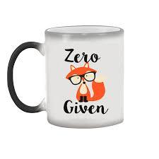 best mugs aliexpress com buy light magic mug magic zero fox given mugs cup