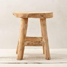 reclaimed teak garden stool terrain