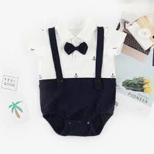 The 25 Best Anchor Print - baby boy s handsome anchor print faux two bodysuit