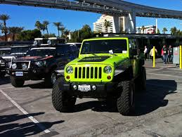 sema jeep yj jeep wrangler rubicon outside global high performance