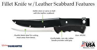 flexible fillet knife for all meats sharpest fillet knives