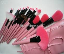 new 30 discount professional makeup brushes set pink