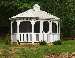 14x14 Outdoor Gazebo by Outdoors Metal Gazebo With Metal Roof With Outdoor Wicker